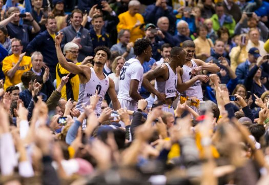 USP NCAA BASKETBALL: VILLANOVA AT MARQUETTE S BKC USA WI